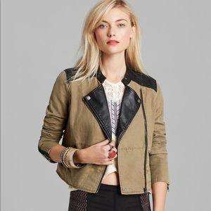 c07da72f656 Women Free People Faux Leather Jacket on Poshmark